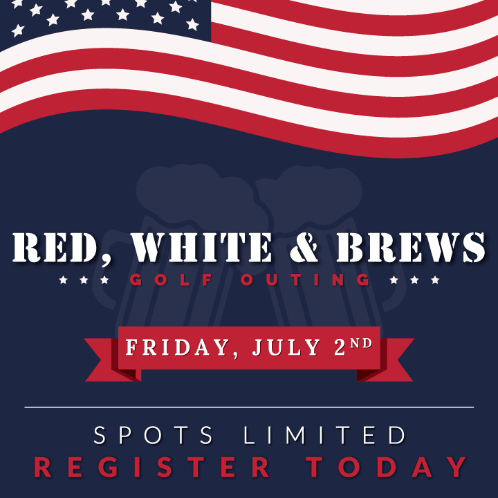 3rd Annual Red, White and Brews Golf Outing