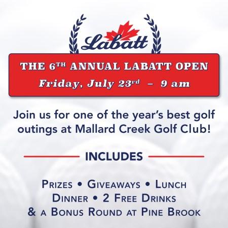 6th Annual Labatt Open