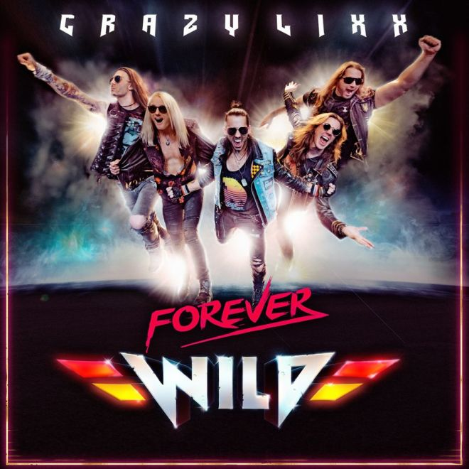 "Ny Skivrecension: Crazy Lixx – ""Forever Wild""."