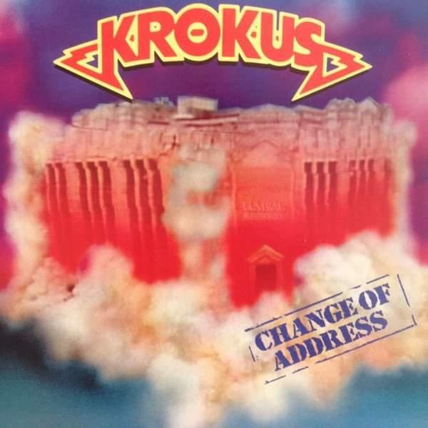 """Krokus – """"Change Of Adress"""" 33 år."""