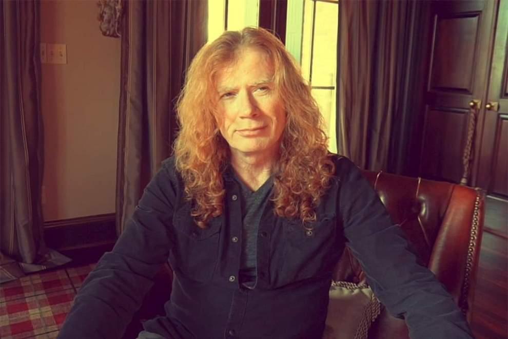 Kort video: Dave Mustaine tackar för all support som strömmat in sedan cancerbeskedet.