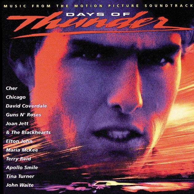 "Days Of Thunder –  ""Soundtrack"" 29 år."