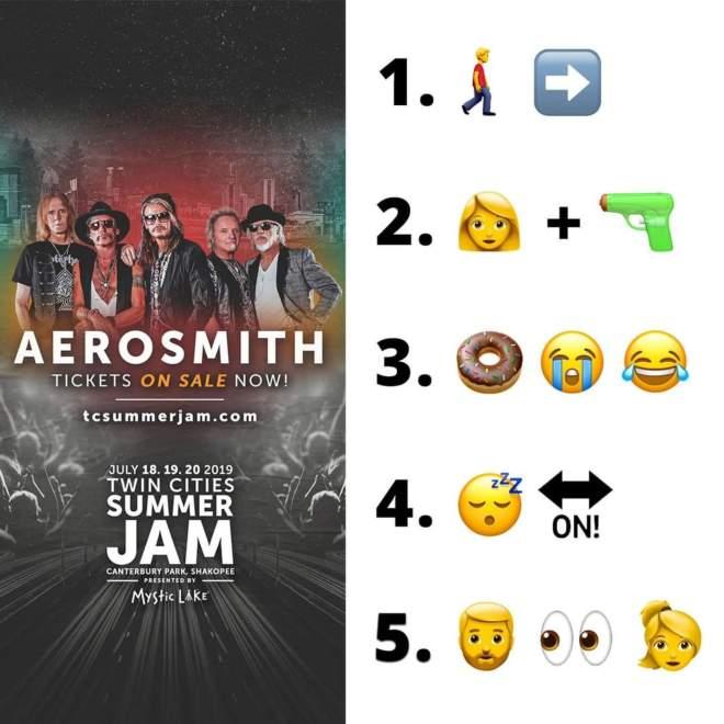 Tävla mot kompisen. Vem lurar ut alla klassiska Aerosmith låtar först?