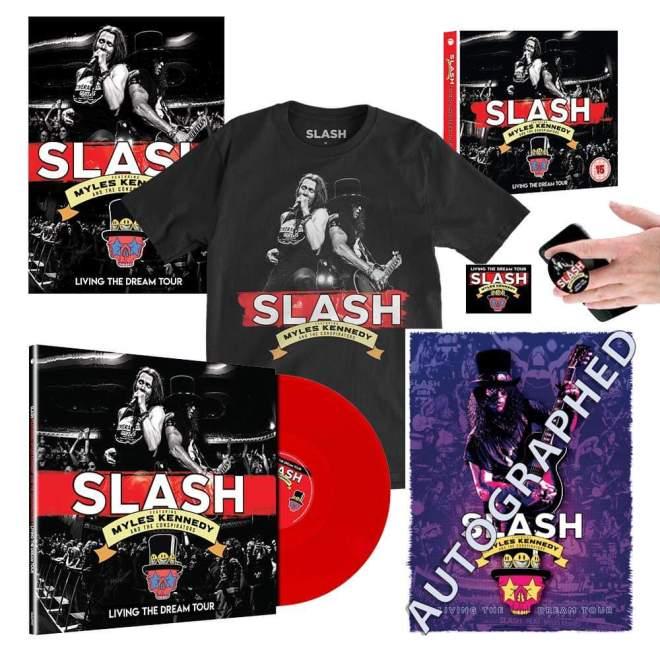 Slash ft Myles Kennedy & The Conspirators släpper livekonsert på alla medier.