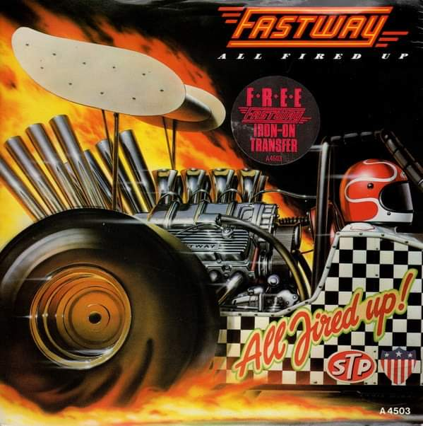 """Fastway – """"All Fired Up"""" 35 år."""