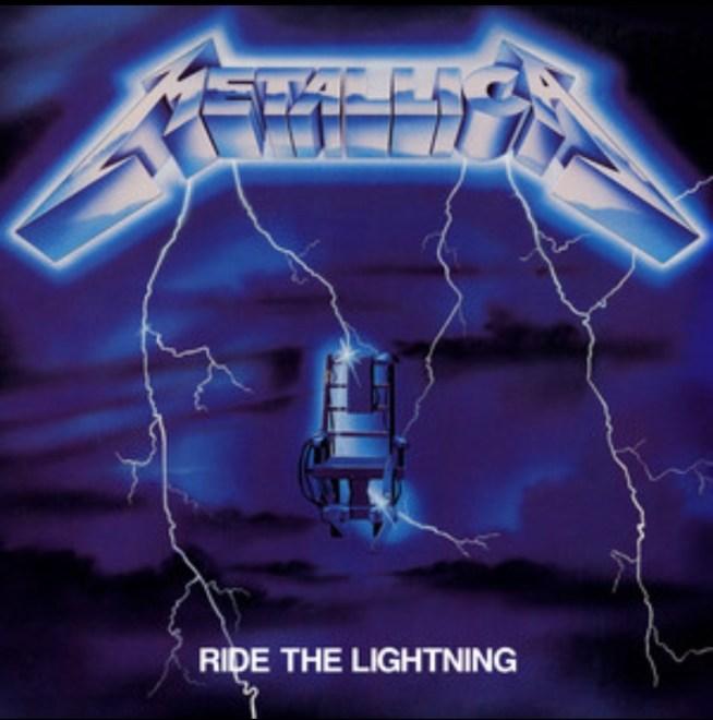 """Metallica – """"Ride The Lightning"""" 35 år."""
