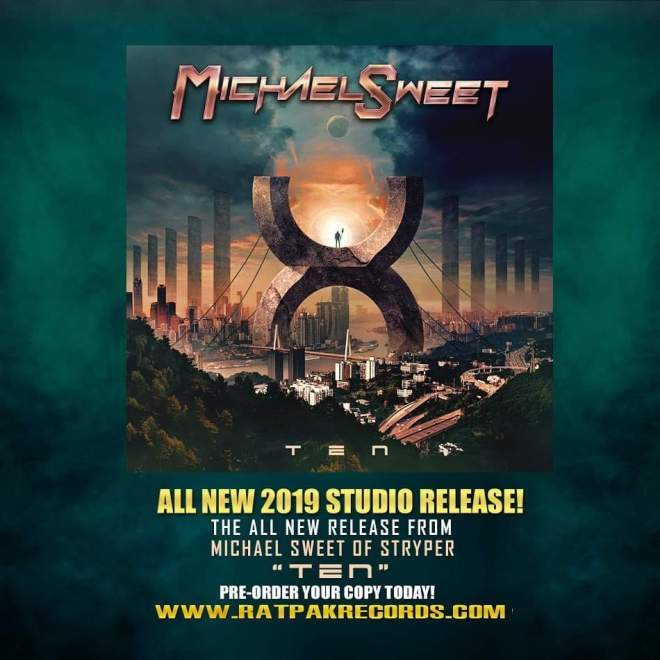 "Ny Video: ""Michael Sweet (Stryper) ""Better Part of Me"" ft: Jeff Loomis (Arch Enemy) Official Lyric Video""."