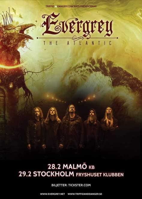 Evergrey kommer till Malmö och Stockholm!