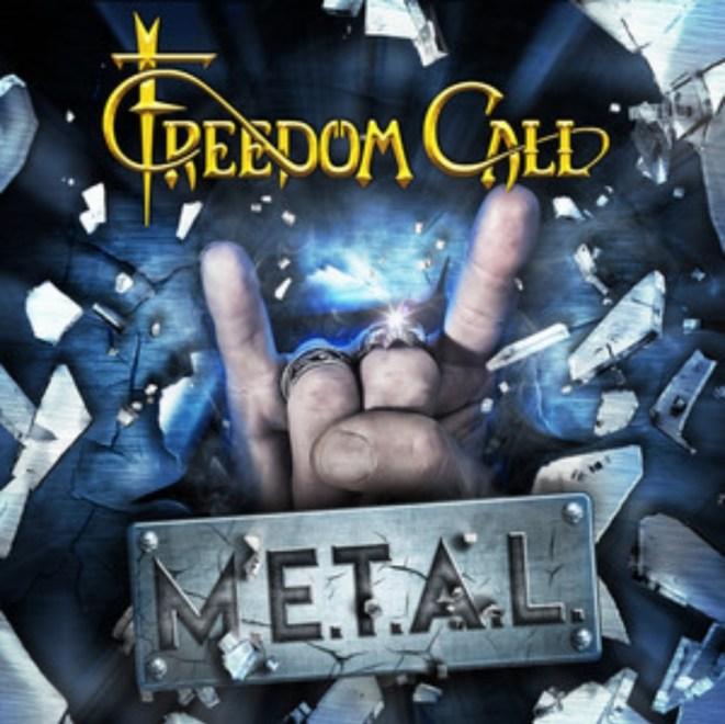 """Freedom Call har släppt sitt nya album """"M.E.T.A.L. Lyssna i länken."""