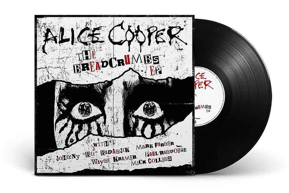 """Alice Cooper hyllar Detroit och dess musiker med nya EP:n """"Breadcrumps""""."""
