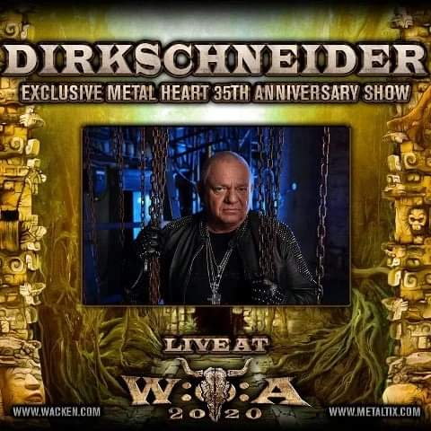 Udo Dirkschneider firar 35!