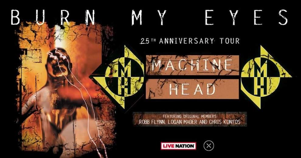 Machine Head kommer till Sverige för 25 års kalas.
