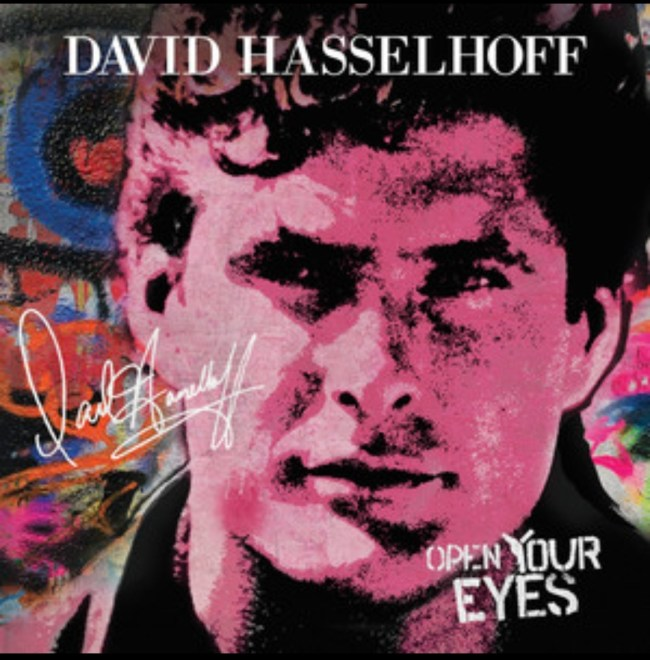 """Ny Video: David Hasselhoff feat. James Williamson – """"Open Your Eyes""""."""