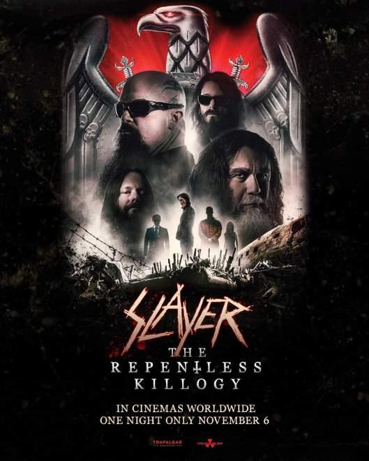Dessa visar Slayer – The Repentless Killogy.