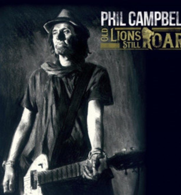 """Ny Skivrecension: Phil Campbell – """"Old Lions Still Roar""""."""