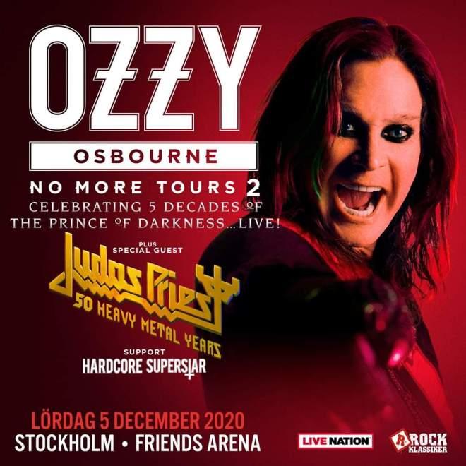 Nytt datum spikat för Ozzy Osbourne.