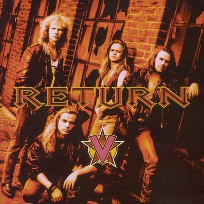 """AOR Heaven återutger Return – """"V"""" från 1992."""