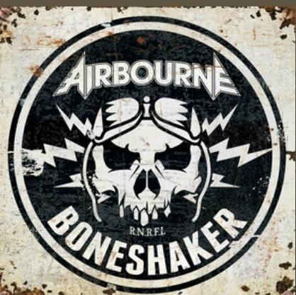 """Airbourne har släppt sitt nya album """"Boneshaker""""."""