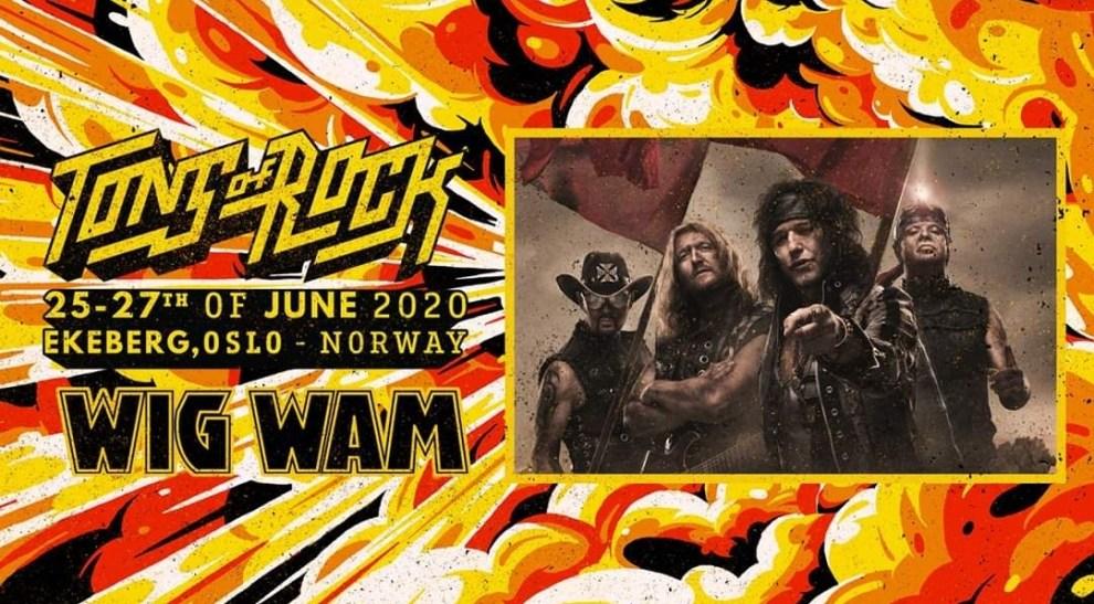 Wig Wam gör comeback på Tons of Rock!