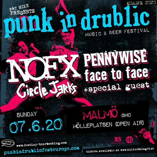 Punk In Drublic till Sverige!