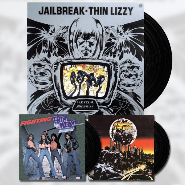 Universal Music återutger tre Thin Lizzy album på vinyl.