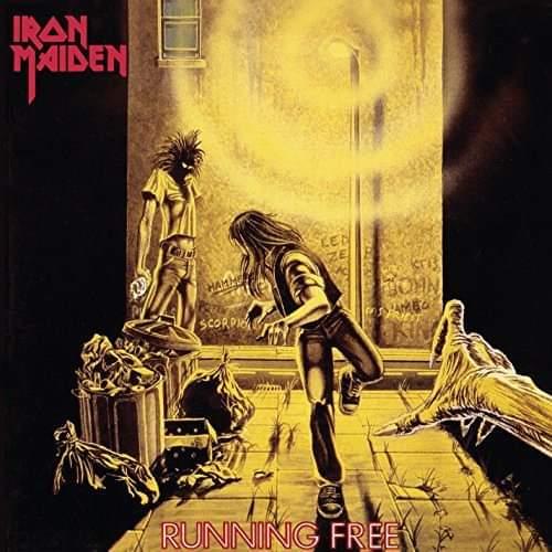 """Iron Maiden – """"Running Free"""" (Singel) 40 år."""