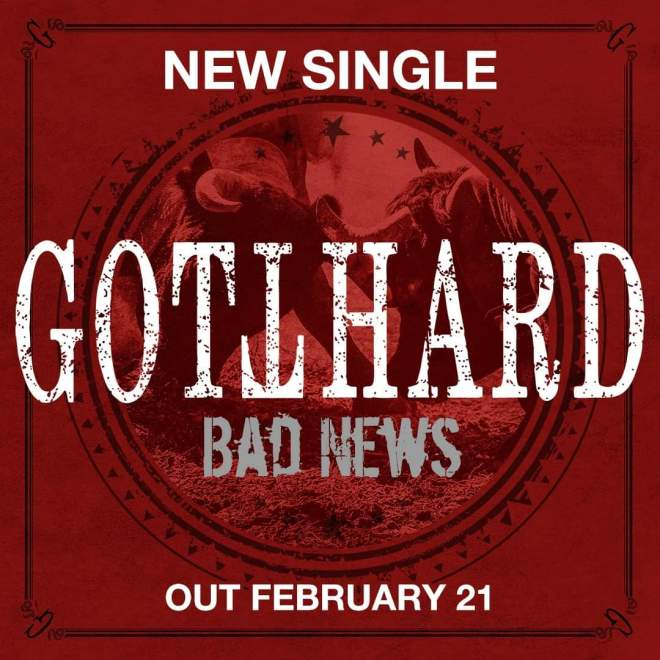 "Ny Video: Gotthard – ""Bad News""."