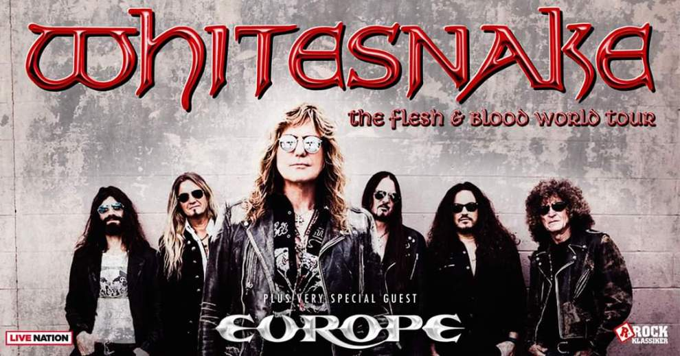 Breaking News! Whitesnake ställer in hela Europa turnén!
