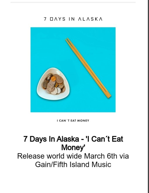 "Ny Video: 7 Days In Alaska – I Can't Eat Money""."