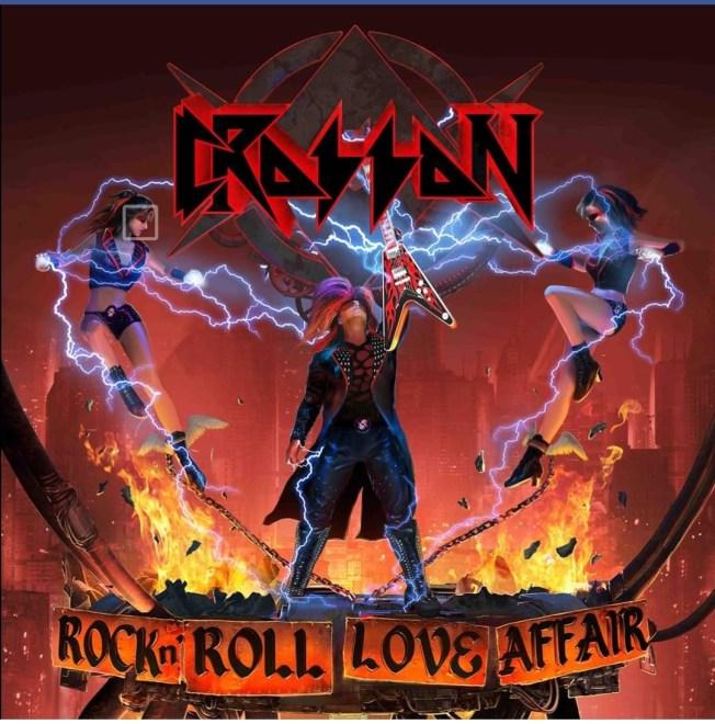 "Ny Skivrecension: Crosson – ""Rock N Roll Love Affair""."