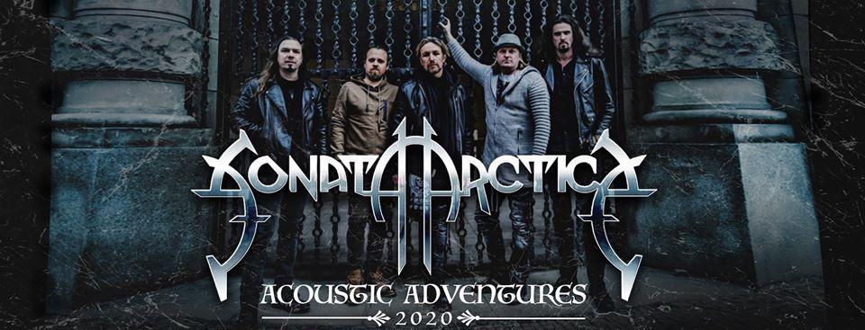 Finska Powermetalbandet Sonata Arctica kommer att spela två streamade akustiska set i slutat av Maj!