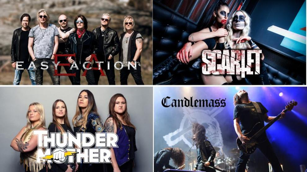 Candlemass, Easy Action, Thundermother & Scarlet klara för NOX ROCKS 2020!