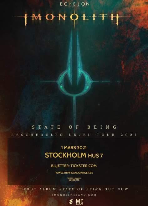 Imonolith kommer till Stockholm.