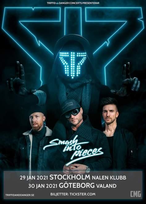 Smash Into Pieces spelar I Stockholm och Göteborg!