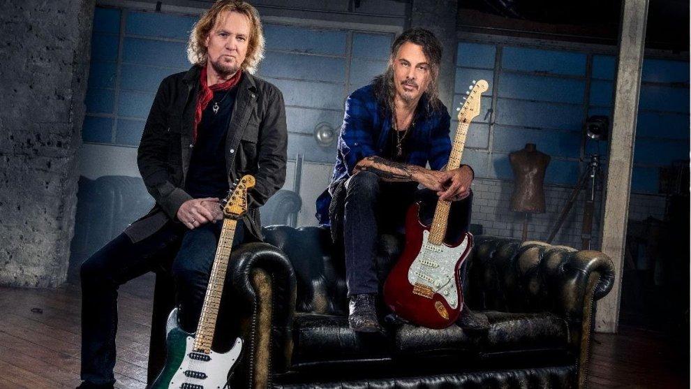 Nytt unikt samarbete! Adrian Smith/Ritchie Kotzen jobbar på album tillsammans.