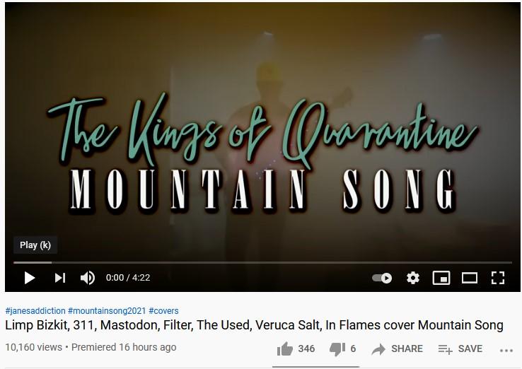 The Kings of Quarantine går ihop för att samla pengar till människor i musikbranchen!