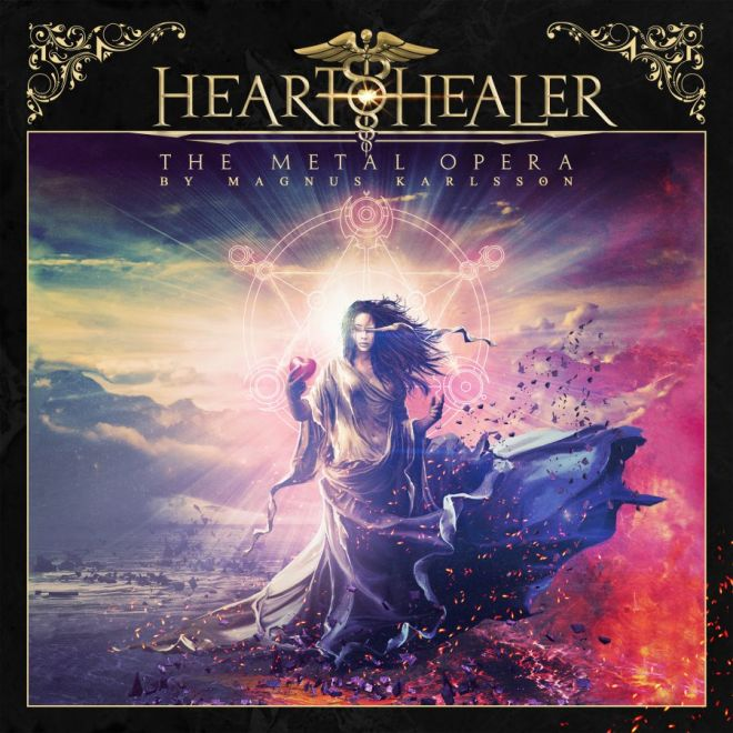 Ny skivrecension: Heart healer – The Metal opera by Magnus Karlsson