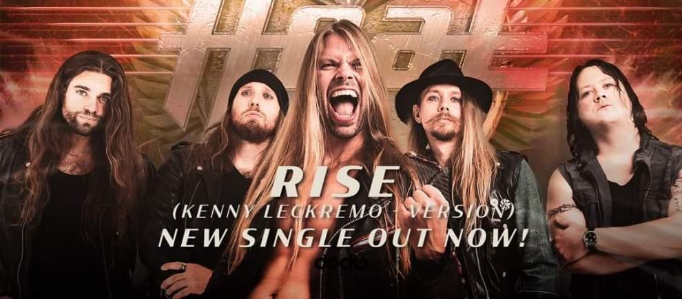 "New Single – H.E.A.T – ""Rise""."