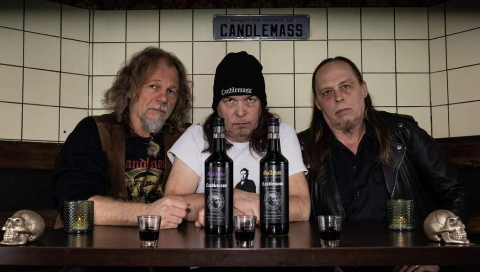 "Candlemass and Brands For Fans release ""Shot Of Doom"" shot!"