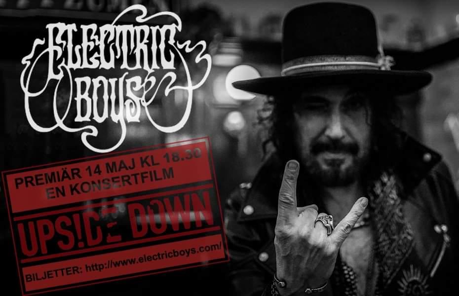Electric Boys bjuder in alla fans till livestream fredagen den 14 Maj.