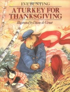 A Turkey for Thanksgiving- one of my favorites for Thanksgiving. www.themamahoodblog.com