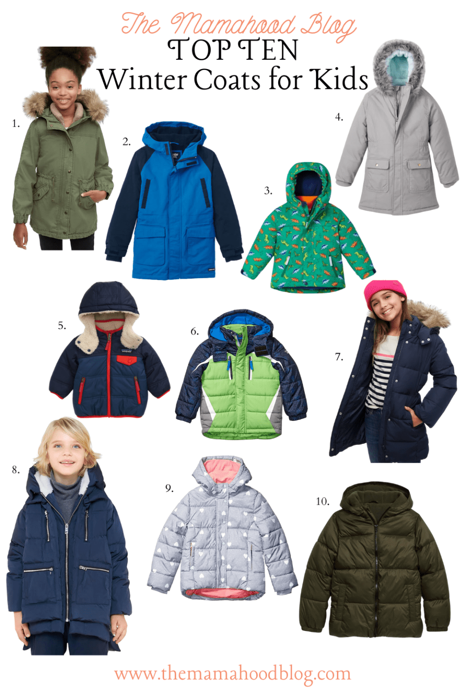 The Mamahood Blog's Top Ten Snow and Winter Gear Picks for Kids www.themamahoodblog.com