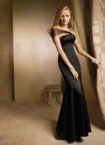 Pnina Tornai bridemaid option (gown in black)