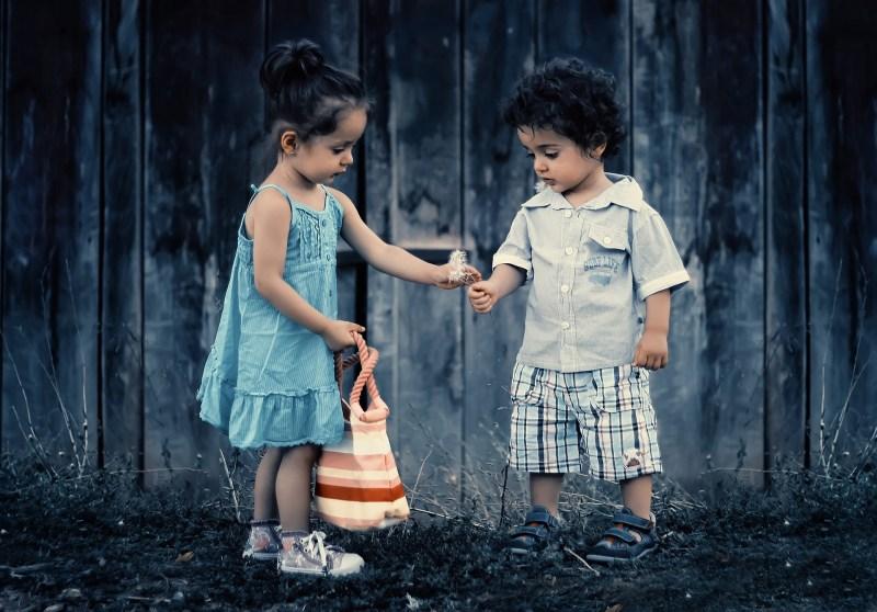 young love, kids, boy, girl, strength, kindness, children