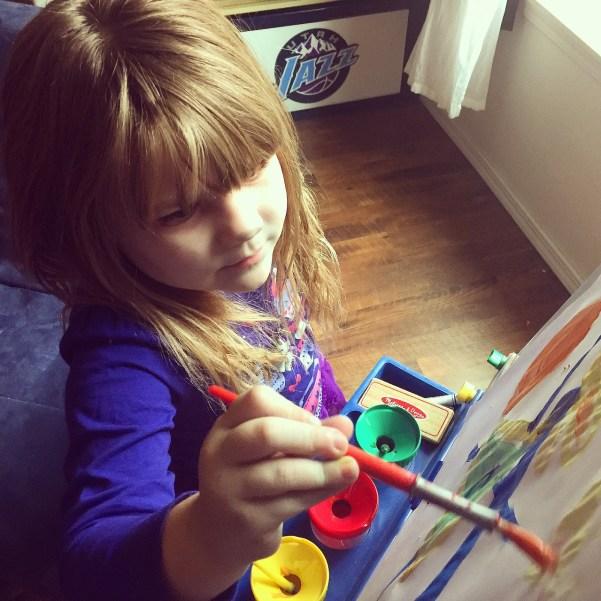 entertaining a preschooler
