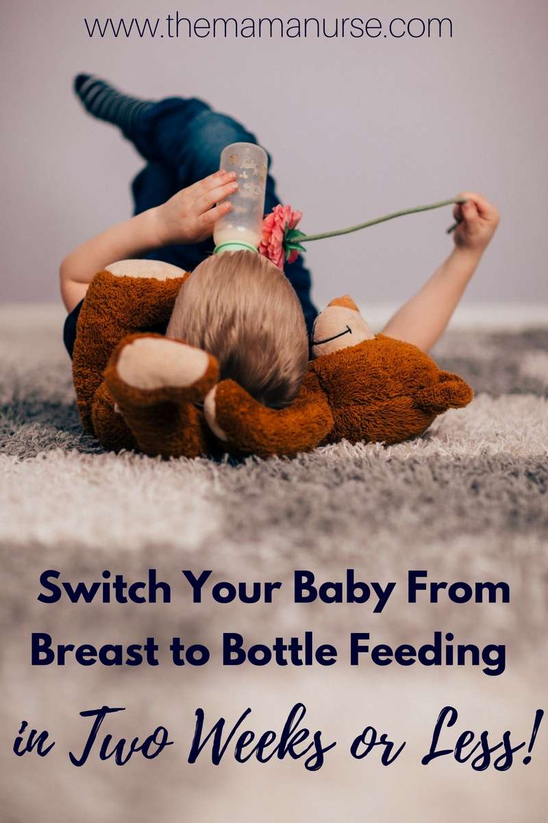 switch your baby from breast to bottle feeding