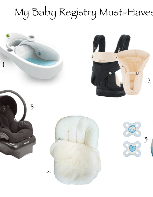 Must-Haves for Baby #2