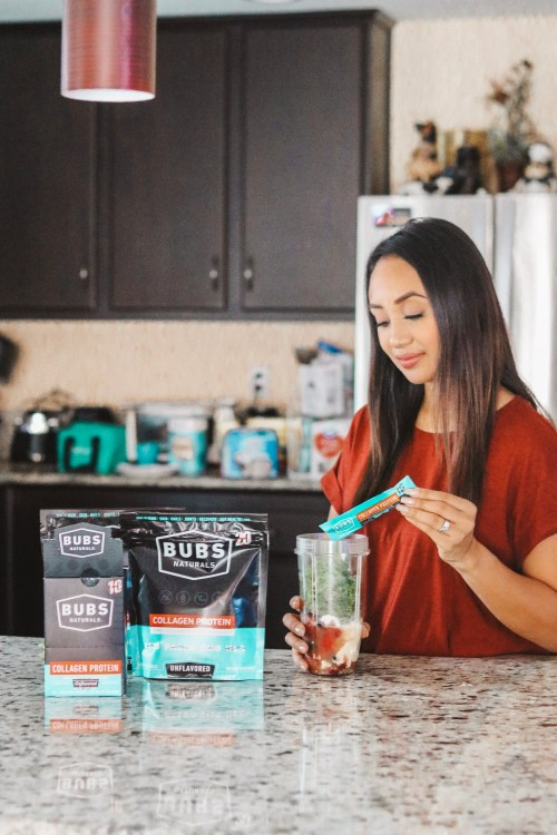 Smoothie Recipe with BUBS Naturals Collagen Protein