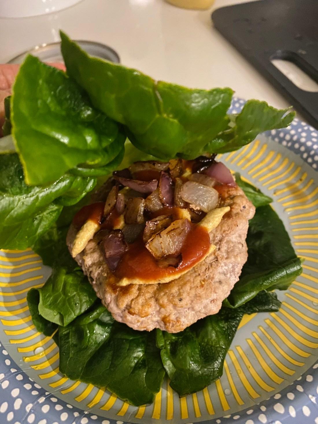 turkey burger protein style