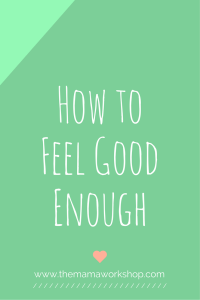 Evaluating Your Fears: Am I Good Enough?